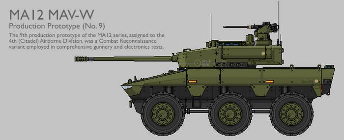 MA12 MAV(W) CRV Production Prototype [Coloured] by SixthCircle