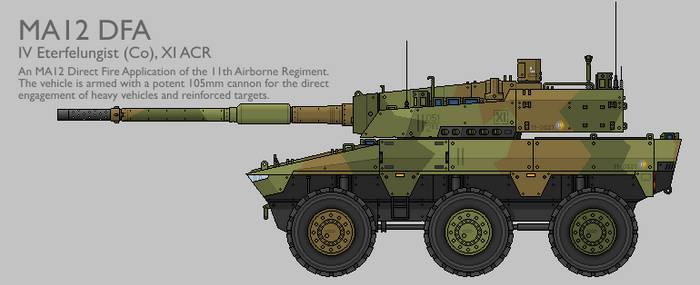 MA12 MAV(W) DFA Production Standard [Coloured]