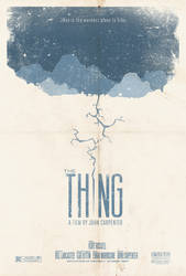 The Thing Poster 2 by adamrabalais