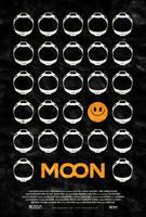 Moon Poster by adamrabalais