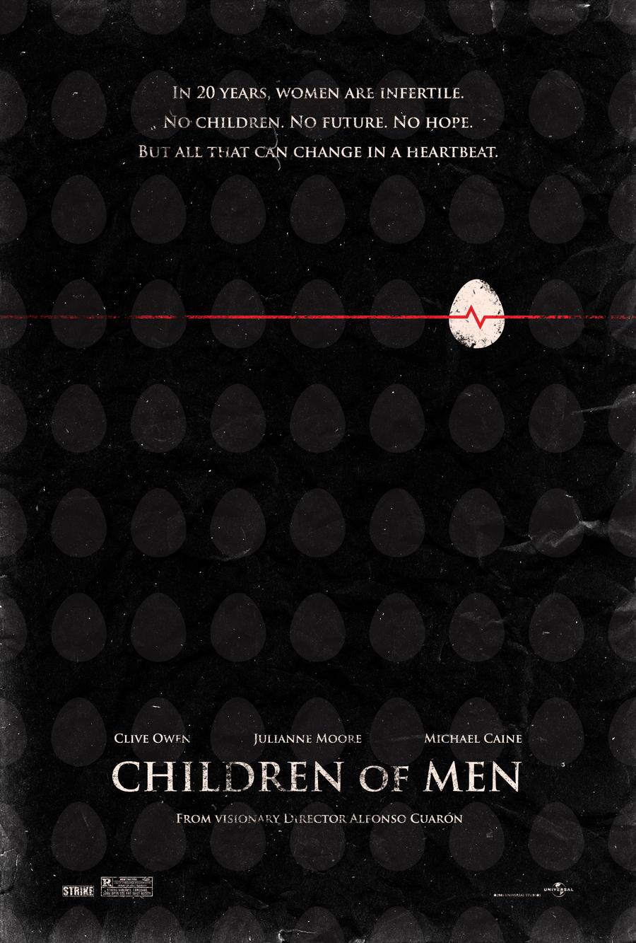 children of men poster by adamrabalais on deviantart
