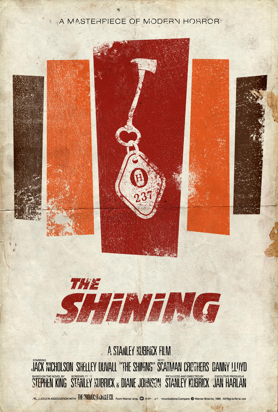 The Shining Poster by adamrabalais