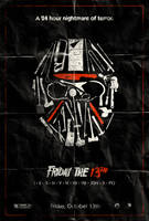Friday the 13th Poster by adamrabalais