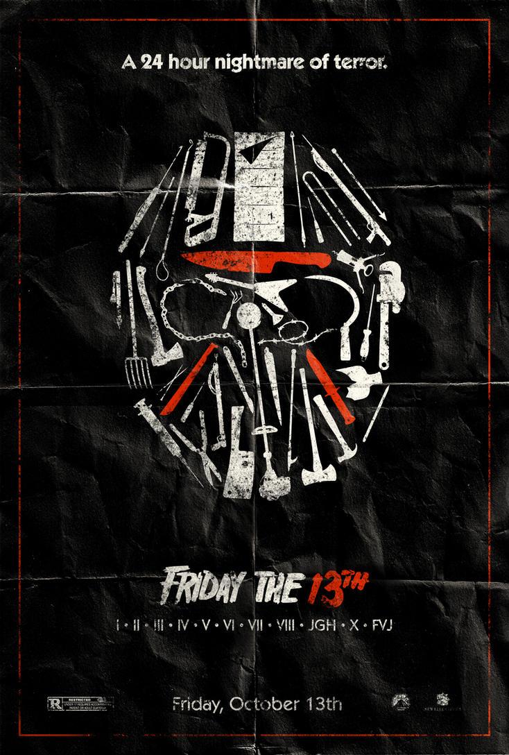Poster design deviantart - Friday The 13th Poster By Adamrabalais