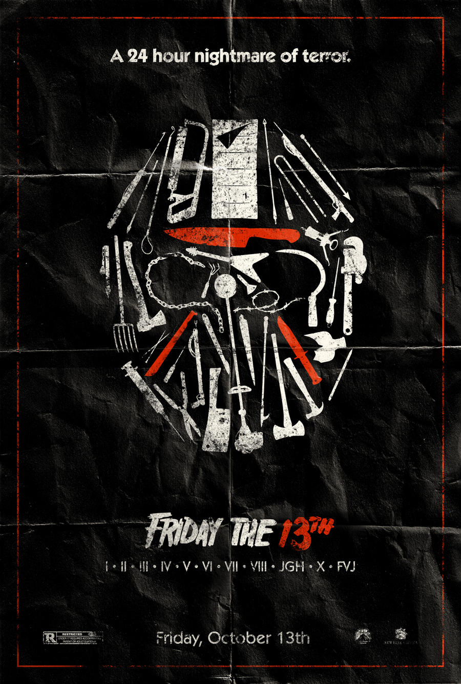 Mini Horror Reviews Friday The 13th 1980 By Techgnotic On