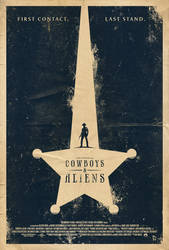 Cowboys and Aliens Poster by adamrabalais