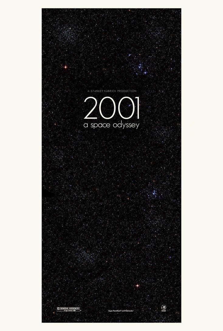 2001: A Space Odyssey Poster 2 by adamrabalais