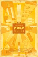 Pulp Fiction Poster by adamrabalais