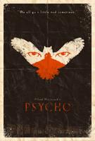 Psycho Poster by adamrabalais