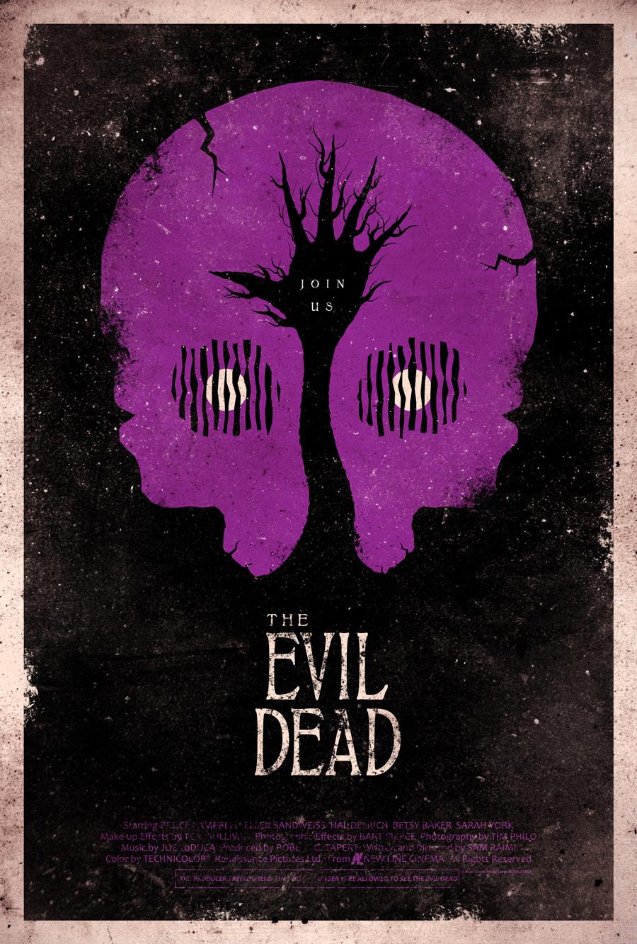 The Evil Dead Poster by adamrabalais