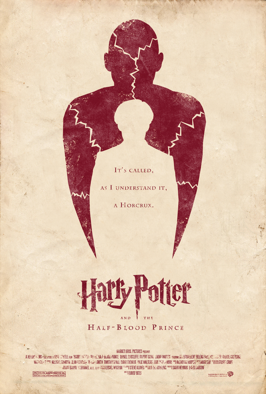 Harry Potter HBP Poster