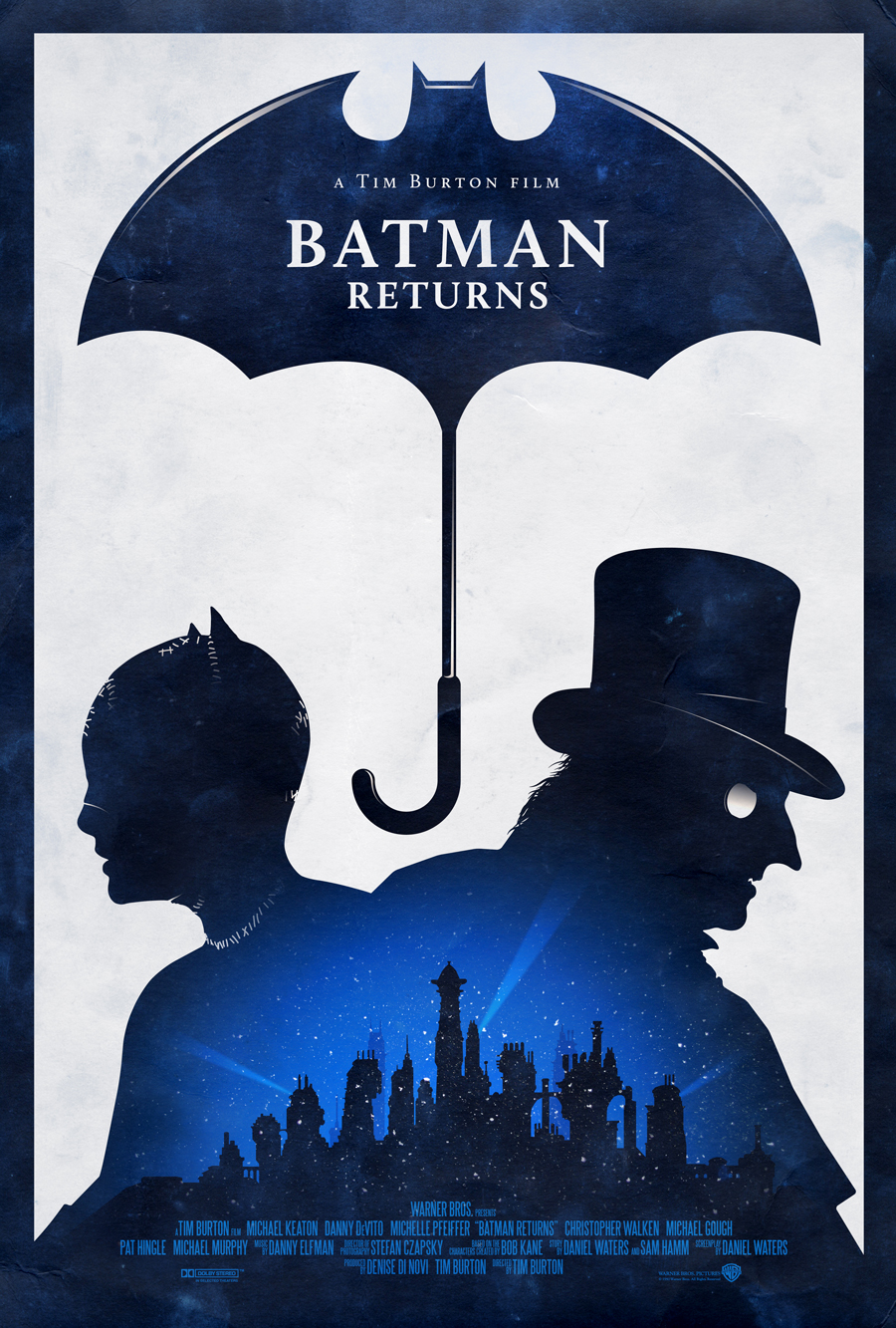 Batman Returns Poster by adamrabalais