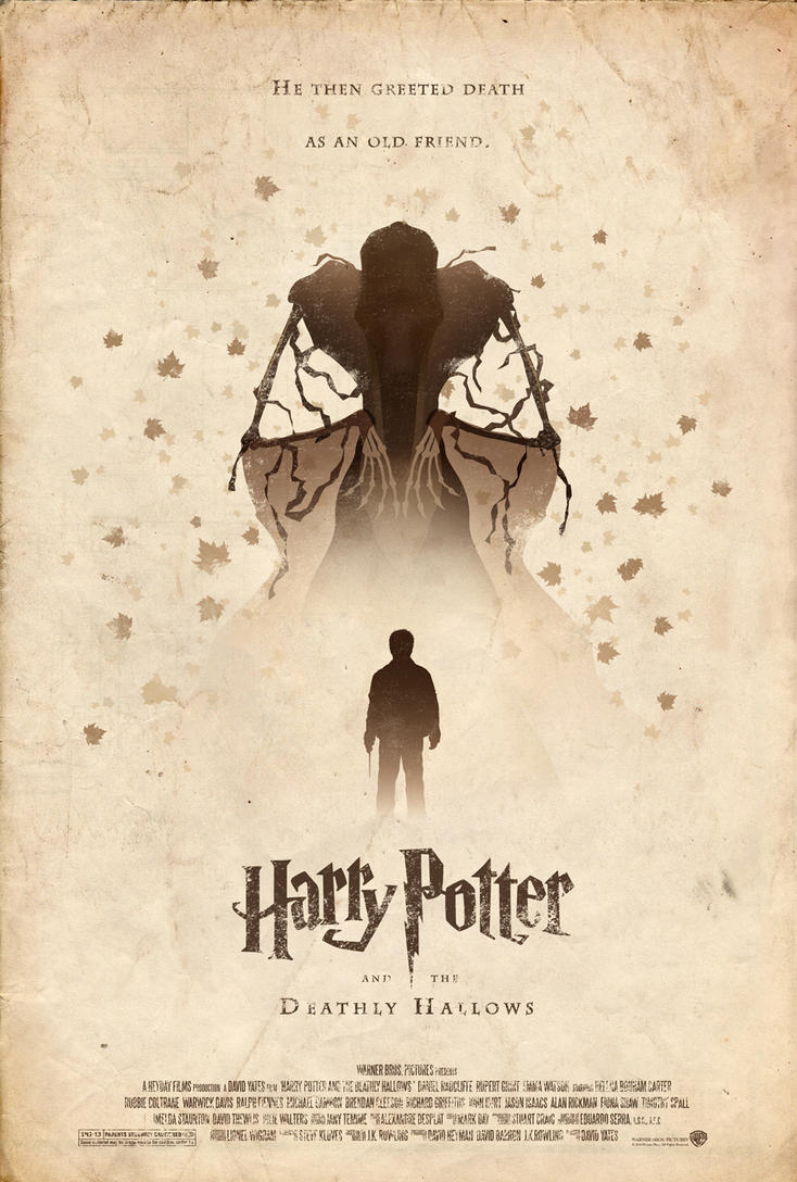 Harry Potter And The Deathly Hallows Poster By