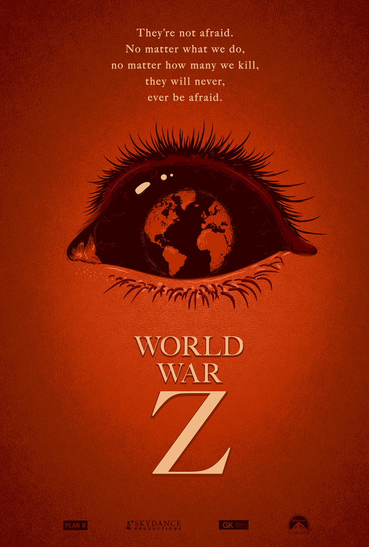 World War Z Poster by adamrabalais