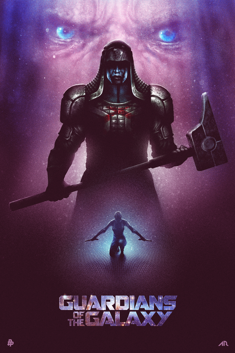 Guardians of the Galaxy - Blurppy's Poster Posse