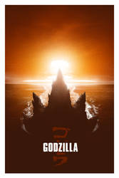 Godzilla - Blurppy's Poster Posse