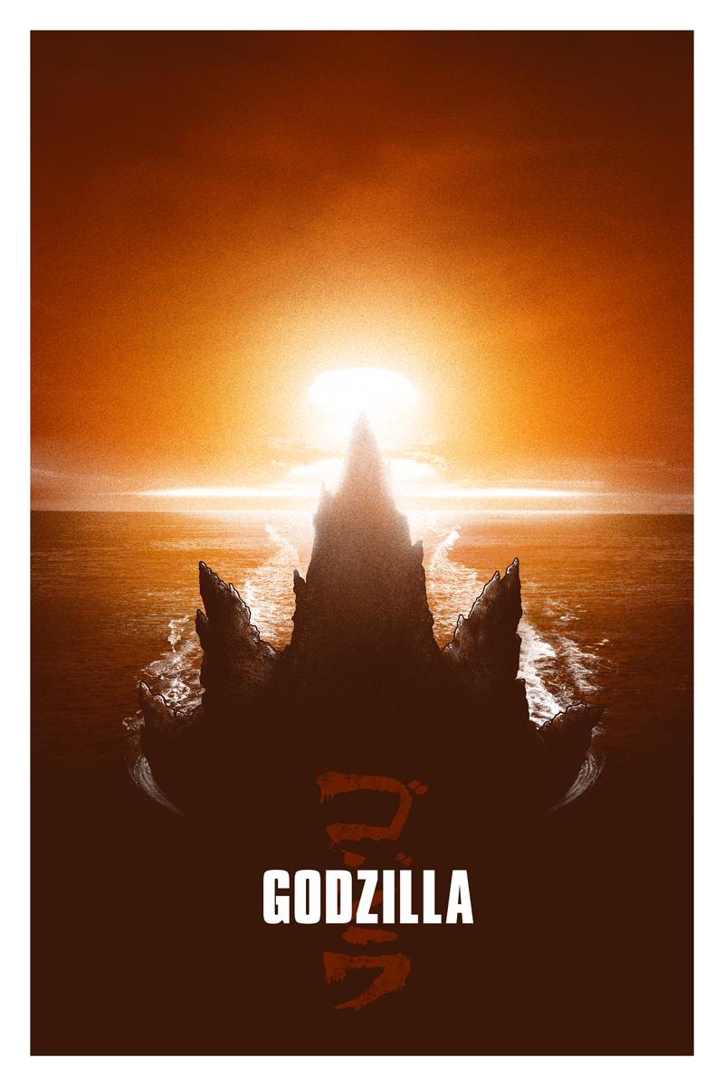 Godzilla - Blurppy's Poster Posse by adamrabalais