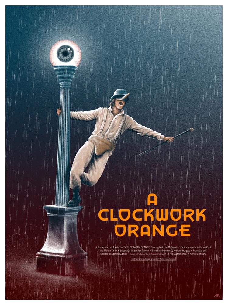 Cinematic Psychopaths: A Clockwork Orange by adamrabalais