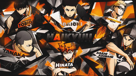TAG TEAM 3 / Karasuno Team by Hyuka-Team