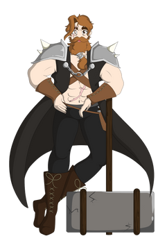DnD character design for a friend