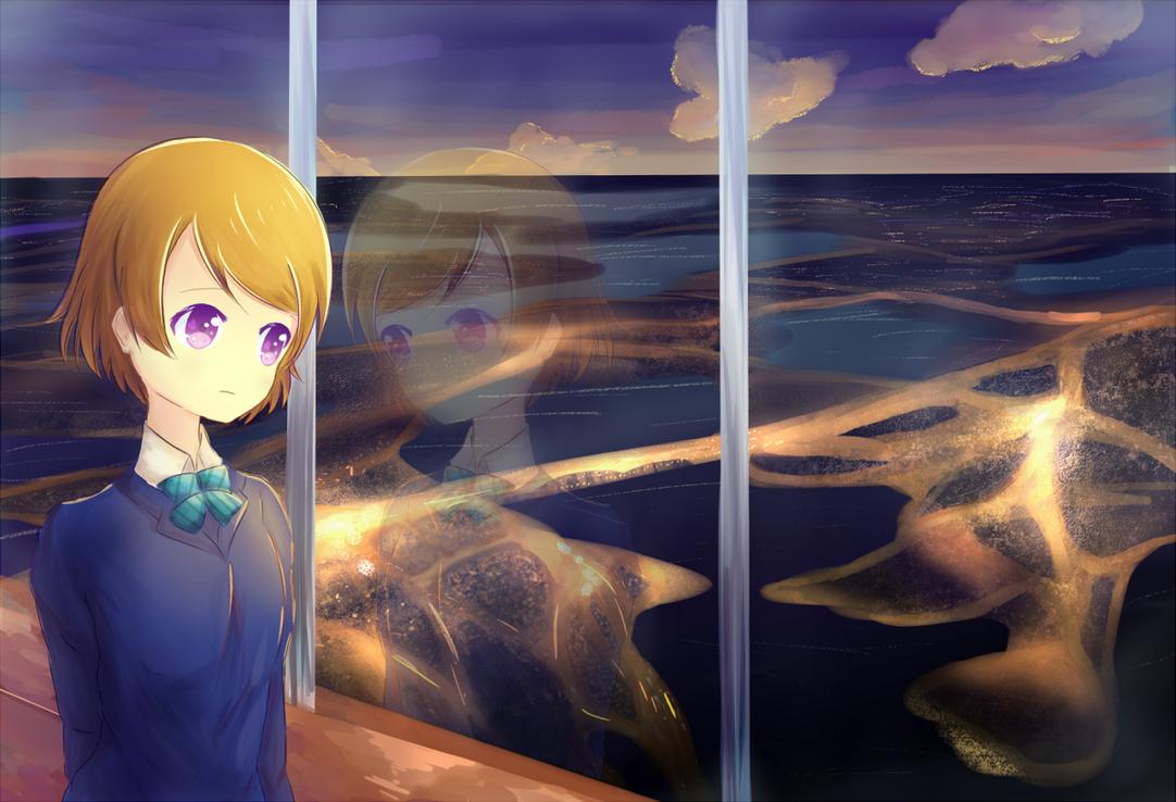 By the Window by Feitaru