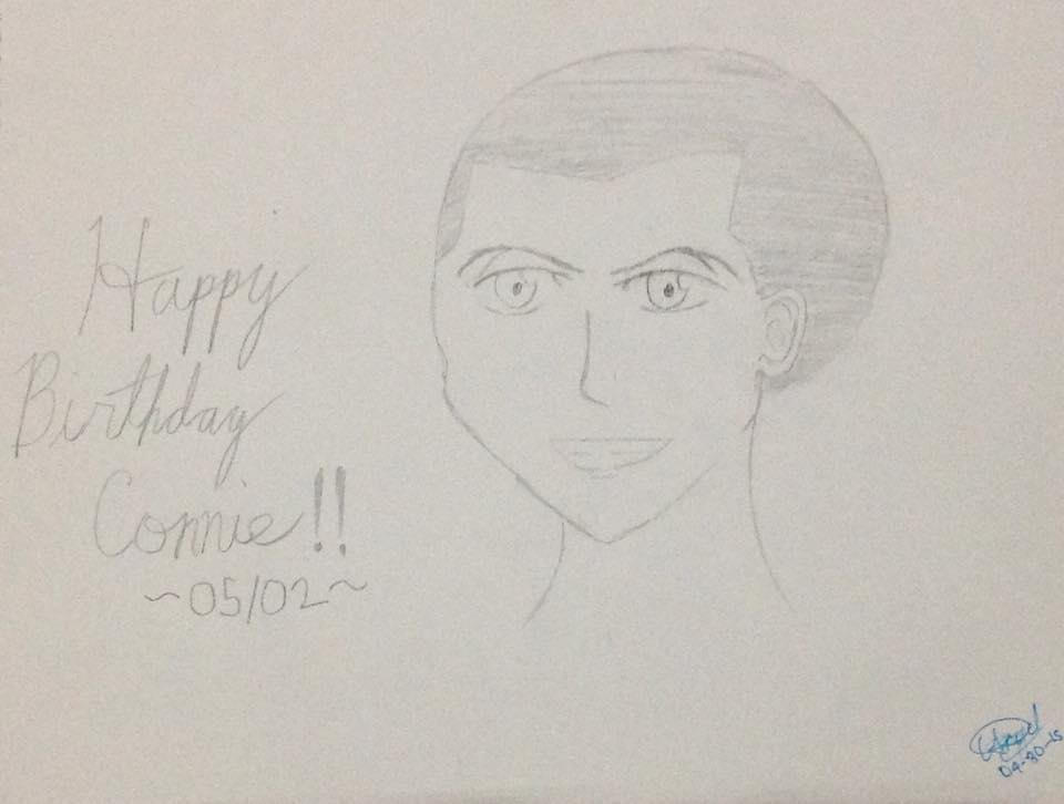 Happy Birthday Connie by animegirlcorycian
