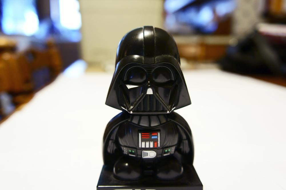 NEX 5 test shot: Vader by Davidwoodfx