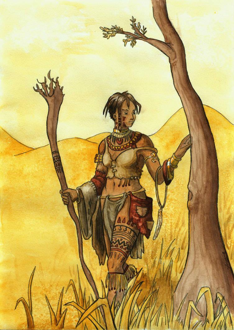 Druid of the desert by DonKringel