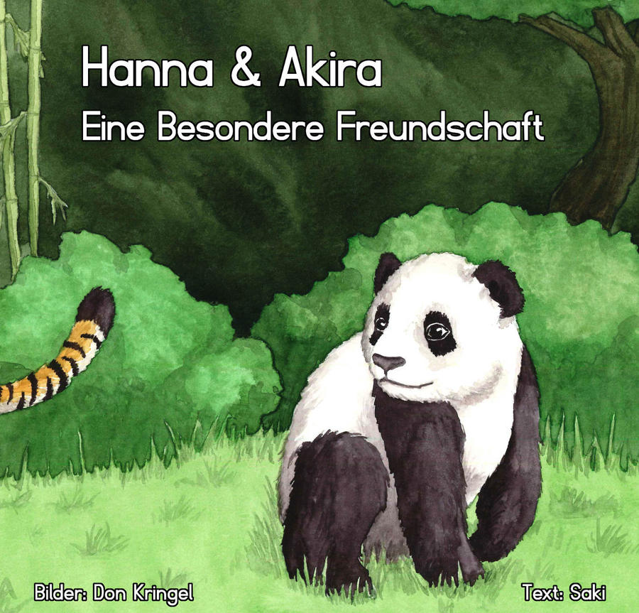 Hanna and Akira - illustrated children's story by DonKringel