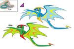 Amphiptere Fakemon
