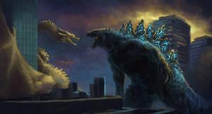 Godzilla: King of the Monsters-Scene Repaint