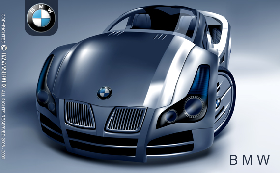 bmw car by hasanaliakhtar on deviantart