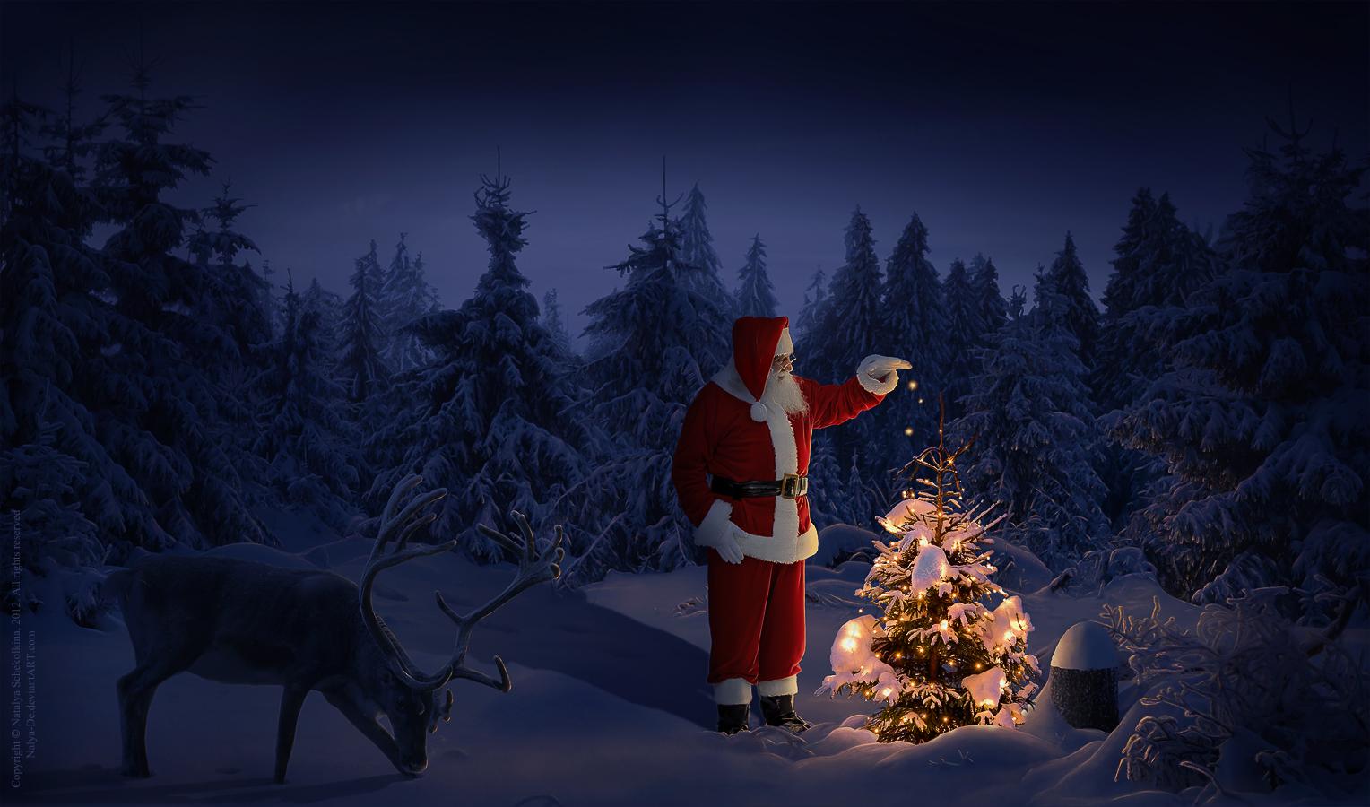 Christmas magic by Nalya-De