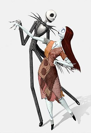 jack and sally by myspacetoy