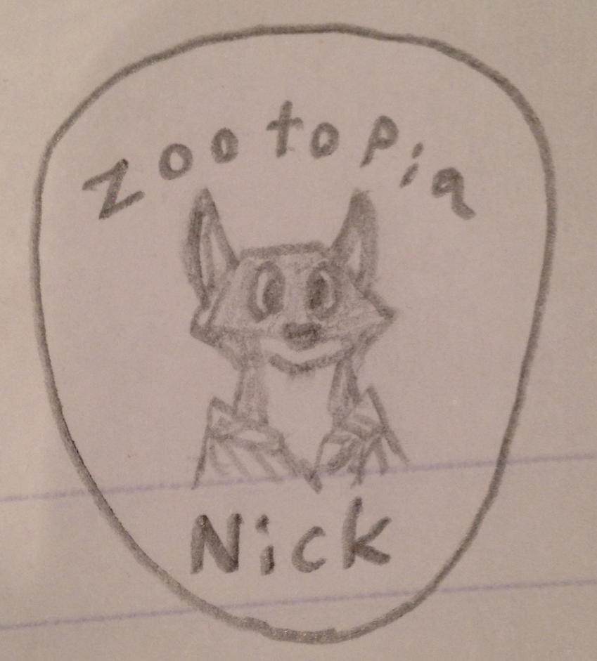 Nick Wilde badge  by Rainbow-Night