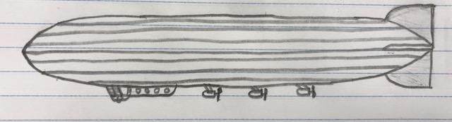 Zeppelin sketch by Rainbow-Night