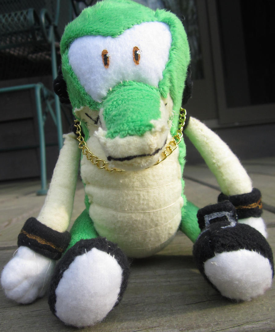 Vector The Crocodile Plush By Kawaii Ruby On Deviantart