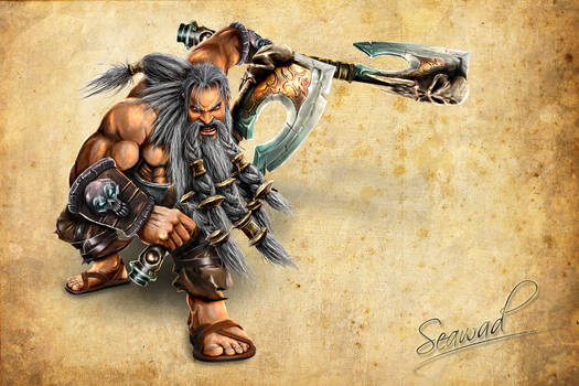 Barbarian Battle Stance