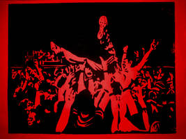 Stage Dive by FloscH-art