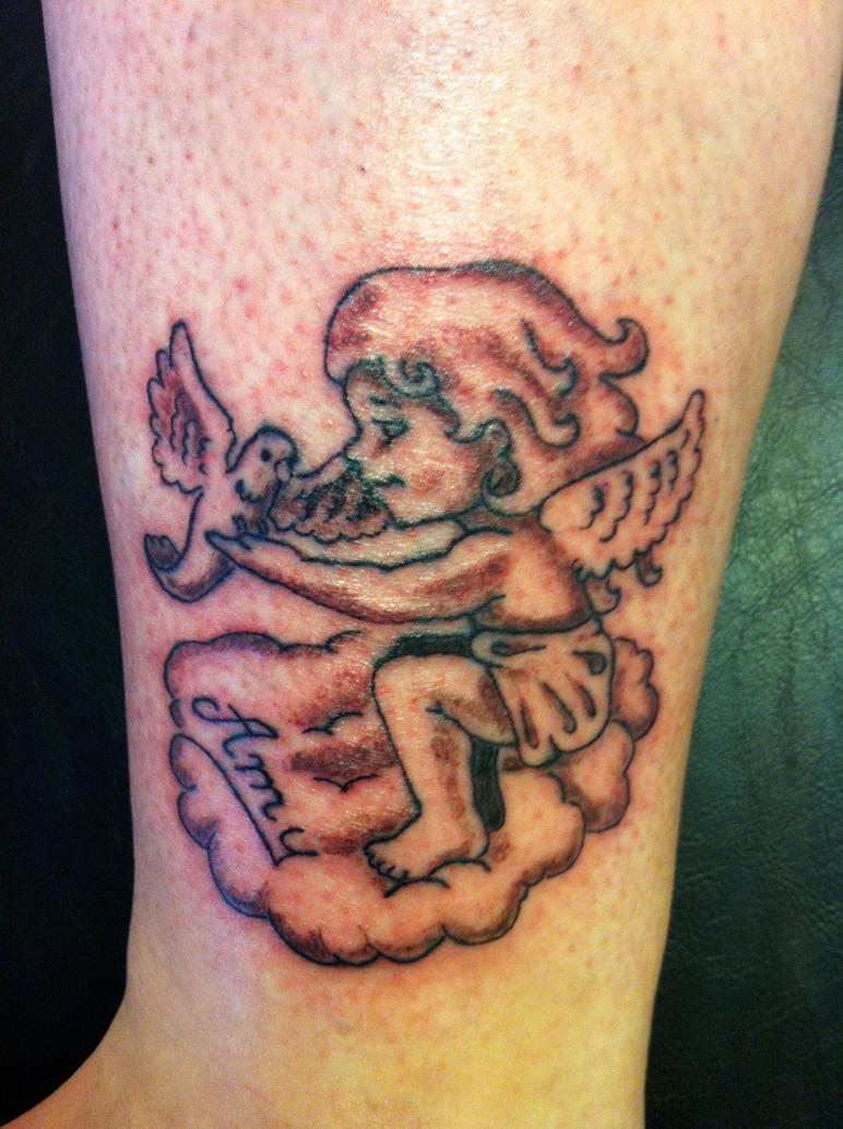 Little Angel Tattoo | www.imgkid.com - The Image Kid Has It!