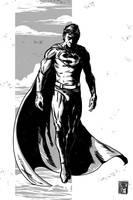 Superman Sketch by rndmtask