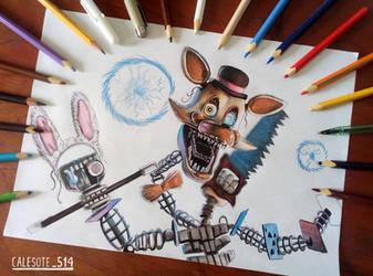 Magical Mangle Art Tradicional - Calesote514