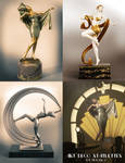 Art Deco Statuettes for Victoria 8 - 13-15