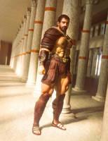Roman Basilica by jepegraphics