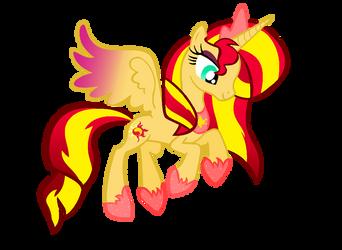 DOLL: Princess Sunset Shimmer by PrincessDeathWish