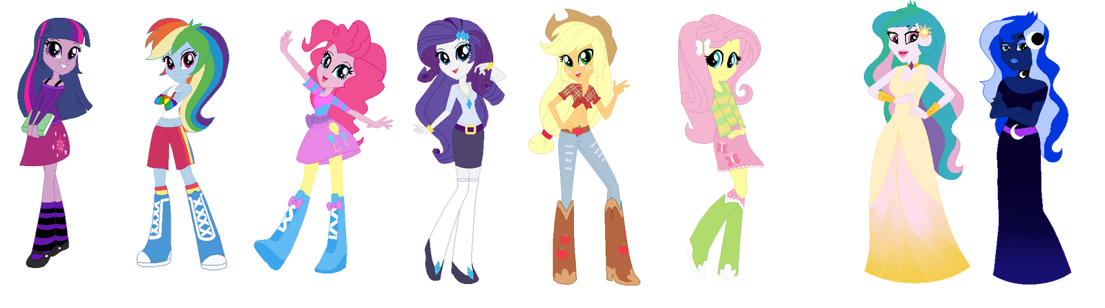 DOLL: Equestria Girls (My Version) by PrincessDeathWish