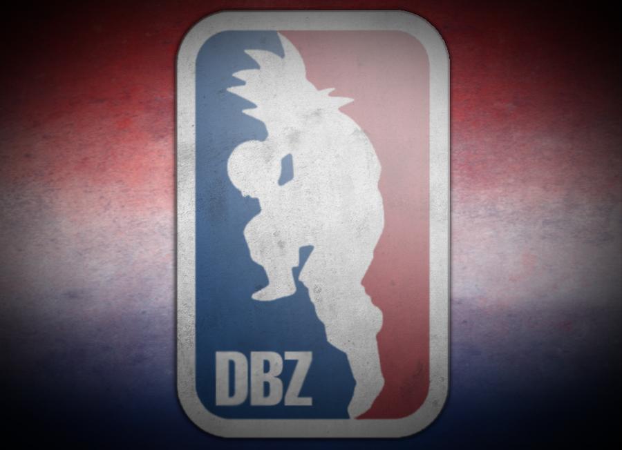 DBZ NBA Logo Wallpaper By DCGIL