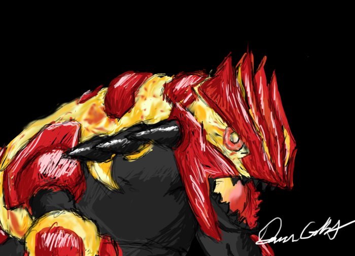 Primal Groudon by DCGIL