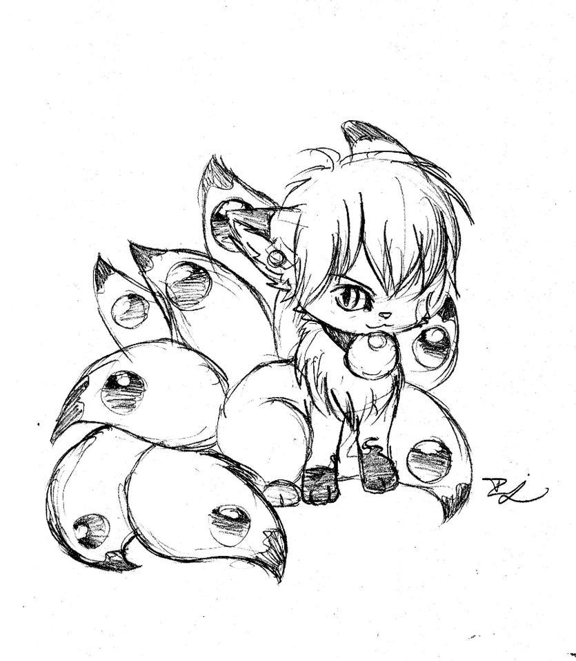 Chibi Nine Tails By Ohitsuji101 On DeviantArt