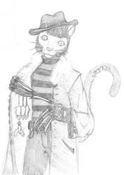 Freddy the cat by Stefanxp